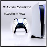 PS5 لعبة تحكم نمط حالة وقائية لحالة Airpods 1 2 ps5 برو gamepad العفن سيليكون airpods برو حالة سماعة الغلاف