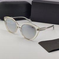 109 New Style All-Match Damen Mode Sonnenbrille Charming Cat Eye Pop Glasses UV400 Brille UV-Schutz mit hoher Qualität