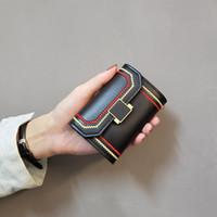 ins nuova designer coreano tessuto anti-smagnetizzazione cerniera cassa di carta cassa di carta spiccioli multi-scheda di moda organo carta caso bancaria trasporto libero