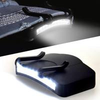 헤드 램프 모자 가벼운 랜턴 헤드 램프 모자 클립 배터리 전원 LED 헤드 낚시 유니섹스 야외 밝기 11 edgenight