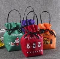 Горячая распродажа 2020 новый нетканый пакет сумка изготовлена на заказ рождественская подарочная сумка рождественские эве сумочка творческий яблочный мешок в наличии