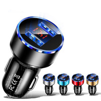 Dual USB Car Charger With LED Display 3. 1A Universal Mobile ...