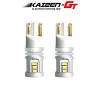 2 piezas de bus CAN Free Error T10 168 194 bulbos 2825 15-SMD LED para las luces de la etiqueta Mini Cooper / aparcamiento luces de posición / retroceso