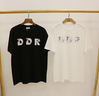Hombre diseñador camiseta moda hombres casual t shirts hombre París Francia calle pantalones cortos de manga ropa Tshirts Tamaño asiático S-XL
