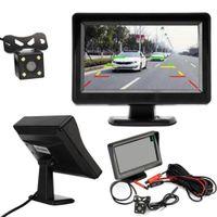 4.3inch 12V Auto-hintere Ansicht-Kamera-Monitor-Unterstützungsrückkamera Kit-Nachtsicht-Parken-Rückfahrsystem