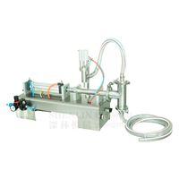 Máquina de enchimento de material de enchimento líquido 0.6MPa pneumático 100/300/500 ml enchimento de garrafas de água molho máquina de enchimento de embalagens de bebidas
