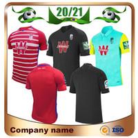 2020 غرناطة الرئيسية لكرة القدم جيرسي 20/21 غرناطة بعيدا # 14 F.VICO # 9 PUERTAS كرة القدم قميص 3 موحدة فاديلو POZO مخصص لكرة القدم