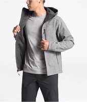 Men's Outdoor Jacket 2020 Autumn Winter New Active Hooded Windbreaker Outwear Fleece Jacket Hiking Climbing 15 Colors Euro Size S-2XL