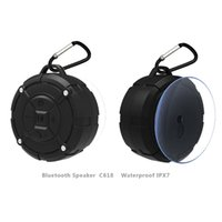 Altavoz Bluetooth mini altavoces aspirados tipo de tecnología Bluetooth portátil diente azul Subwoofer Subwoofer reproductor de música USB Iphone Altavoz