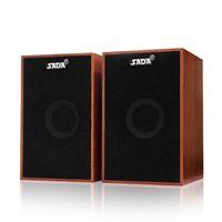Haut-parleurs combinés Sada V-160 USB câblé en bois Bass Basse Stéréo Musique Player Subwoofer Sound Box pour ordinateur portable pour ordinateur portable