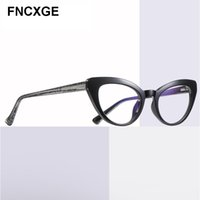 2020 unglasses de las mujeres retras de la vendimia Gafas de sol del ojo de gato azul claro bloqueo gafas de equipo Gafas señoras de la moda femenina