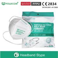 DHL ücretsiz kargo! POGECOM KN95 Maske Yetişkin Anti-Fog Haz Taze Grip KN95 Yüz Maskesi ve CE ile FFP2 Maskesi 2834 Sertifika