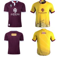 Hot ventes Australie 2020 Rugby Jersey Queensland Maroons QLD Maroons de rugby Maillots Ligue chemise Holden STATEOF ORIGIN s-5XL