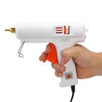 20W  80-120W  110W  120W Professional Hot Melt Glue Gun Adjustable Constant Temperature Heater Craft Repair Tool Fit 11mm  7mm