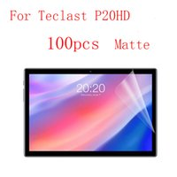 Transparent Screen Protector Film for Teclast P20HD without retail packing 100pcs lot