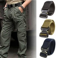 Hirigin Men Adjustable Nylon Belt Army Tactical Belt Molle C...