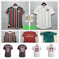 20 21 Fluminense Futebol Jersey Ganso Fluzao Fred Phganso Hudson Nene Nino Henrique Personalizar 2020 Homens Kids Home Away Terceiro Futebol