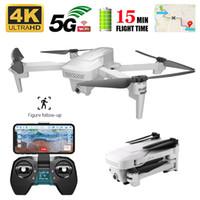 Drones Visuo XS818 GPS Drone FPV HD 4 K Kamera Quadrocopter Wifi Dron Katlanabilir Selfie RC Quadcopter Helikopter Oyuncaklar Çocuk için
