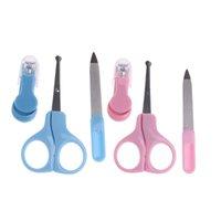 3шт / набор Новорожденный Детский педикюр Маникюр для волос Health Care Уход Kit