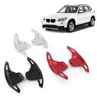 Aluminio Shift Volante Paddle Car Extensión Gear Shifter Para BMW 2 3 4 5 6 7 Series X1 X4 Z4 2pcs