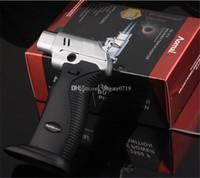 1300C / 2500C ветрозащитный бутан зажигалка сигара инструмент Краскопульт Jet Double зажигалок струи пламени горелки Курительные принадлежности