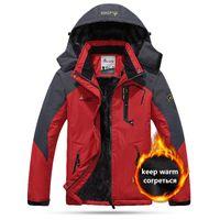 Açık CeketHodies Sıcak Kış Su Geçirmez Termal Ceket Adam Kadınlar Sonbahar Yürüyüş Kayak Nem geçirmez Kamp Giysileri