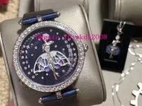 Новый VCARO4F200 женские часы класса люкс Женщина Часы Женщины Алмазный Часы Швейцарский кварцевый Эмаль циферблат сапфировое стекло