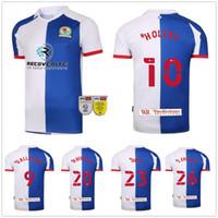 2020 2021 Blackburn Rovers Futebol Jerseys Armstong Brameton Holtby Dack Gallagher Lenihan Johnson Custom 20 21 Camisa Futebol