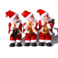 Schütteln Hip Musik Elektroweihnachtsmann Toy Elektro Schütteln Buttock Weihnachtsmann Weihnachtsschmuck Weihnachten Kindergeschenke CYZ2753 Sea Shipping
