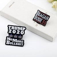 Custom Design fabbrica US Biden Trump Elezioni presidenziali sancire Breastpin Metal Badge Pin Emblem HHC2013