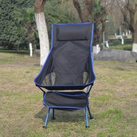 السفر خفيفة للطي كرسي superhard سبائك التخييم كرسي المحمولة شاطئ التنزه نزهة مقعد أدوات الصيد كرسي VT1643