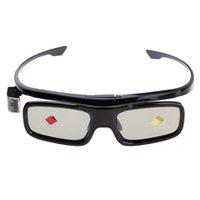 Bluetooth recargable mini 3D de obturación activa Proyector DLP Link gafas # 3