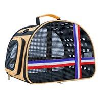 عالية الجودة القط الناقل على ظهره حقيبة حمل قفص سفر فاخرة محبوب شركة نقل جوي Litttle الكلب الناقل القط الصغير صندوق الهامستر قفص القط في الهواء الطلق