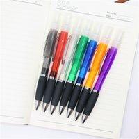 Spray Penna a sfera penna di plastica dello spruzzo di profumo di penna a sfera spruzzo di alcol forniture 7 colori per ufficio T3I51119