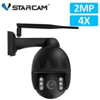 Vstarcam 1080P 4X Zoom Câmera IP Wifi Outdoor IP66 Waterproof IR Visão PTZ Speed Dome CCTV Segurança Vigilância Câmara PTZ Cam
