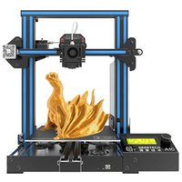 Impressoras Geeetech Impressora 3D A10 2 em 1 Função de Nivelamento Automática de MixColor 220 * 220 * 260mm Tamanho de impressão Controle remoto Off-line