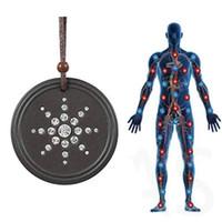 Collana di energia Anti Radiation Protection EMF pendente di Quantum Scalar Donne Uomini Quantum Terapia del campo magnetico Sport Collane