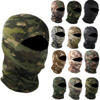 Caps Caps Masks Camouflage BalaClava Открытый мотоцикл Рыбалка на рыболовство Охота Охота Защита Охотника Армия Тактическая головка Лицо