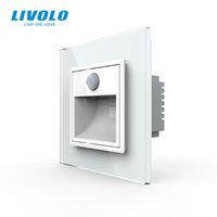 Smart Home Control Livolo Arrivo Lampada angolare del portico standard dell'UE, interruttore dei luci di luci, controllo del touch, luce intelligente del sensore, su in Dar Dar