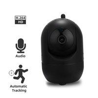 Mini Kameralar OSVR 1080 P Kablosuz IP Kamera Bulut Wifi Akıllı Oto Izleme İnsan Ev Güvenlik Gözetim CCTV Ağ Renk Siyah