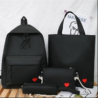 4set Backpack For Teenage Girls Kids Children Student Women ...