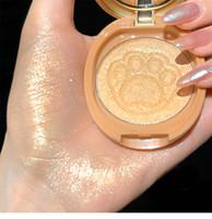 Multifunzione oca uovo Dazzle luminoso Zampa polvere Flash Blush Naturale Highlighter di trucco piastra Cosmetic all'ingrosso popolare