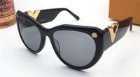 Neue Mode-Design-Sonnenbrille 0902 Katze Rahmen einfacher populäre Art uv400 Schutz Großhandel eyewear Top-Qualität