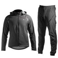 Vélo maillot hiver chaud Cyclisme Jersey Pantalons Vêtements Polaire Vélo Sports de plein air Vêtements Set réfléchissant respirant
