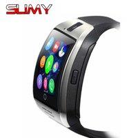 Slimy Männer Frauen Kinder Smart Uhr Telefon Q18 Für Android ios Bluetooth Smartwatch Unterstützung 2G SIM TF Karten Armbanduhr PK DZ09 A1 Y1