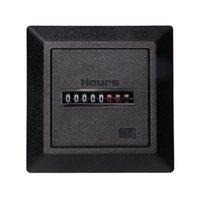 Sayaçlar HM-1 Zamanlayıcı Kare Sayacı Dijital 0-99999.99 Ölçer 0.3 W AC220-240 V / 50Hz AC Saat Ölçer Hourmeter