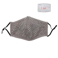 New Breathable Reusable Pm2. 5 Diamond Washable Dustproof wit...