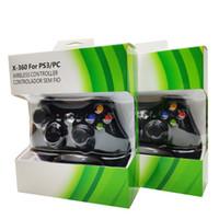 Ricevitore wireless 2.4G Wireless Controller per Microsoft Xbox 360 Gamepad Con PC a distanza Controle per il gioco PS3 Joystick