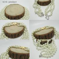 Многослойная Pearl цепи Orbit ожерелья женщины Мода Rhinestone Короткие ожерелья спутника для подарка ювелирных изделий партии высокого качества