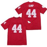 Film Jersey 1995 Forrest Gump 44 Tom Hanks Kırmızı Üniversitesi Alabama Futbol Jersey Spor Appaerl Dikişli Boyut S-6XL
